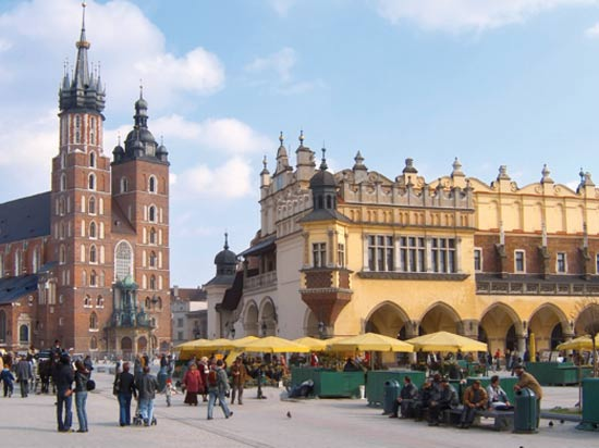 voyage europe centrale cracovie pologne