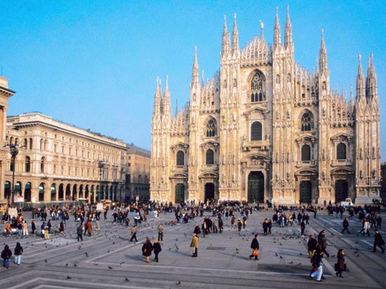 voyage italie dome milan cathedrale