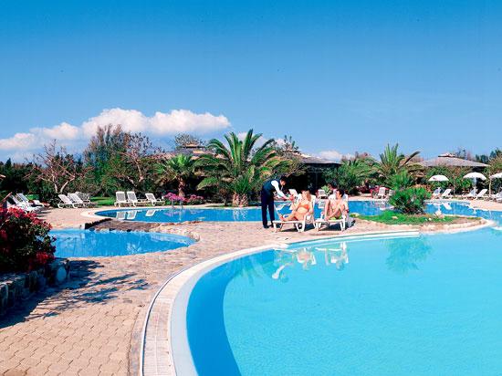 italie sicile hotel fiesta garden beach