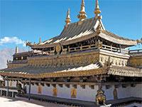 mini chine tibet monastere de jukhang  istock