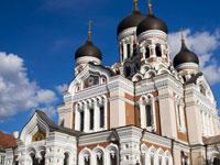 mini estonie tallin cathedrale nevsky  istock
