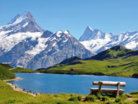 mini suisse alpes grindelwald  fotolia