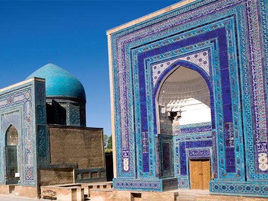 ouzbekistan samarcande necropole chah i zinda