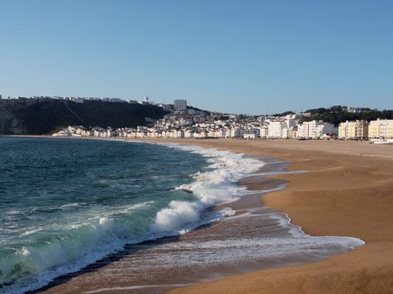 portugal la plage de nazare