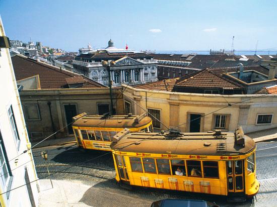 portugal lisbonne tramway