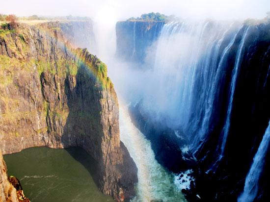 zimbabwe chutes victoria  istock